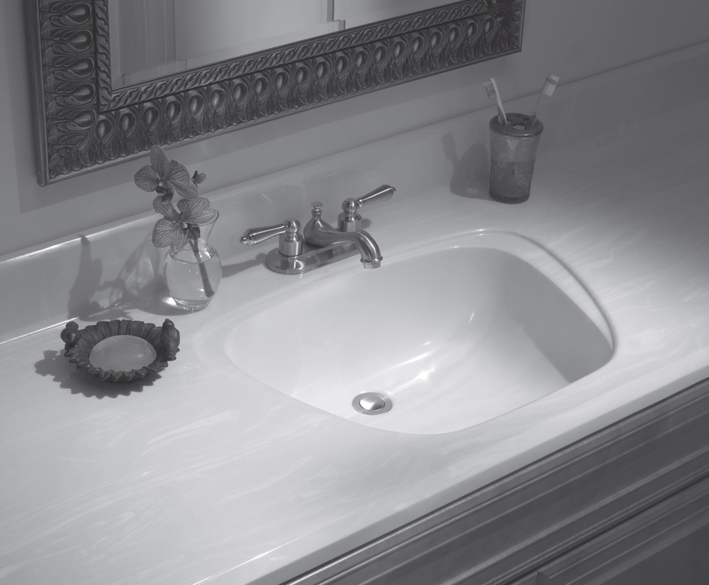 vanity countertop with sink. Lippert Vanity Top w  Aurora Sink Cultured Marble Vanities